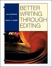 Better Writing Through Editing, Jan Peterson, Stacy A. Hagen, Acceptable Book