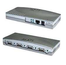 EXSYS Ethernet ex-6004 1 GIGA-LAN a 4 X USB 2.0 porte dispositivi O. server di stampa