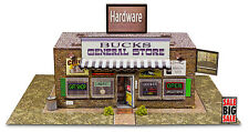 """BK 4818 1:48 Scale """"General Store"""" Photo Real Scale Building Kit Model Trains"""