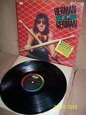 HERMAN RAREBELL (Scorpions) Herman Ze German 1985 Capitol LP ST-12464 EXC-
