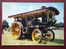 POSTCARD  BURRELL SHOWMANS ENGINE NO 2870 'PRINCESS ROYAL'