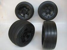 1/5 Baja Wheels & Tyres SLICKS Front & Rear fit HPI 5B  King Motor Rovan PRC