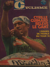 MIROIR DU CYCLISME 1971 N 146 EQUIPE DE FRANCE DU TOUR