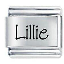 LILLIE Nome - Daisy Charm da JSC Fits Classic Size Italian Braccialetto Ciondoli