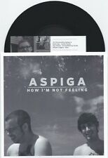 """Aspiga """"How I'm Not Feeling"""" 7"""" OOP Lawrence Arms Weakerthans"""