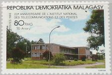 MADAGASCAR MALAGASY 1988 1124 854 Natl. Telecommunication & Post Institute MNH