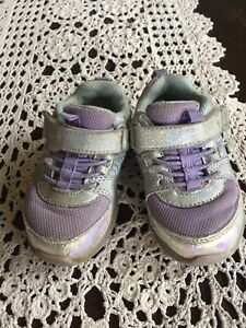 Surprize by Stride Rite Toddler Girls Ardo Light-Up Sneakers-Purple Sz 5M