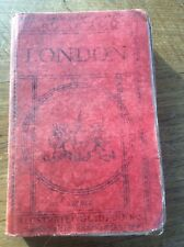 Ward Lock Pictorial Descriptive Guide to LONDON + fold up pull out Maps 47th Edn