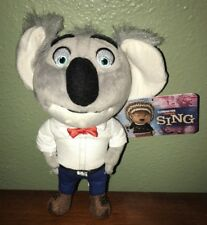 Universal Sing the Movie Figure Buster Plush 1 Pc Small NWT