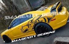 HUGE PASSENGER Side 2012-2014 CHARGER SUPER BEE Decals Graphics Vinyl MOPAR SRT