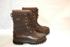 CABELA'S THINSULATE WORK/DUCK BOOTS LEATHER WOMENS SIZE 9 ULTRA INSULATION BROWN