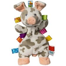 """Mary Meyer Taggies Patches Pig Lovey Blanket 12"""" Soft Plush Baby Toy w/ Tags"""