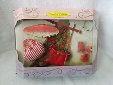 Barbie Millicent Roberts Doll - Final Touches - Red Hot - Shoes, Bags, Belt.....