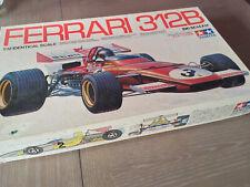 Vintage Tamiya 1/12 Ferrari 312b F1 big scale 7 model kit