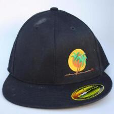 NiceRide Size 6 7/8-71/4 210 Fitted FLEXFIT Black Baseball Cap Hat
