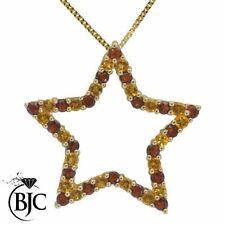 Citrine Yellow Gold Fine Gemstone Necklaces & Pendants