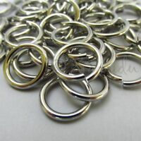 Jump Rings 15mm - 10/20/50 Stainless Steel 12 Gauge Jumprings F8376