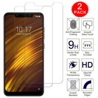For Xiaomi Pocophone F1 - Clear HD Tempered Glass Film Screen Protector [2-Pack]