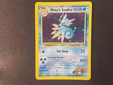 Pokemon Card: Prerelease Misty's Seadra Promo 9/132