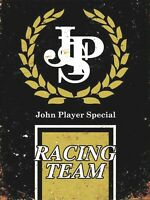 JPS Lotus Racing Team retro vintage metal wall sign plaque garage workshop
