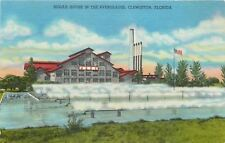 Clewiston Florida~Sugar House in the Everglades~1962 Postcard