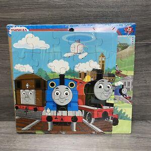 2010 New Thomas The Train 2 Wood Puzzles Cardinal