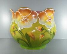 Jugendstil Übertopf / Cachepot - Marke Bonn Keramik - Höhe: 20cm. Guter Zustand