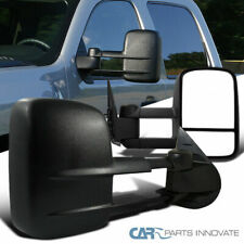 07-14 Chevy Silverado GMC Sierra 1500 2500 3500 Manual Extending Towing Mirrors