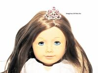 Rhinestone Tiara Crown Metal 18 in Doll Clothes Accessory For American Girl A