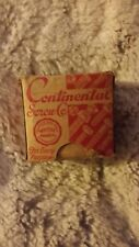 New listing vintage box of continental wood screws