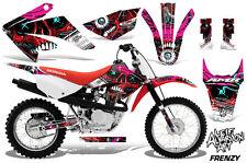 Honda CRF 80F/100F Dirt Bike Graphic Sticker Kit Decal Wrap MX 2011-2016 FRENZY