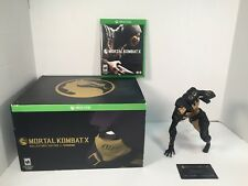 Mortal Kombat X Collector's Edition Microsoft Xbox One 2015 Figure Only NO GAME