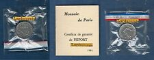 Piéfort - 50 Centimes Semeuse 1981 - RARE 150 Exemplaires FDC PIEFORT