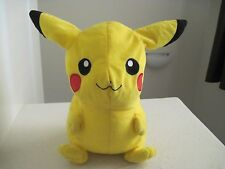 "Toy Factory Big Pokemon PIKACHU 13"" Plush Polystyrene Foam Stuffed Animal"