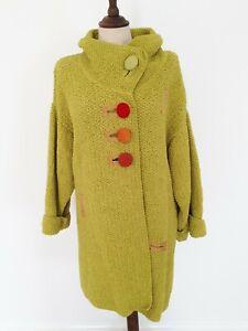 Linda Dooley Hand Woven Designer Coat (Size 16)