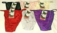 NEW 6 or 12 Pairs Women's String Bikini Underwear