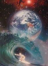PLANETEN POSTER SPACE SURFER