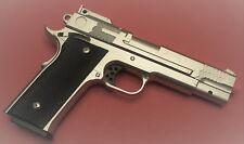 Metal Body & Magazine Airsoft Spring Pistol M945 Silver Shoot Hard 300 FPS G20