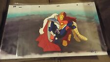 Iron Man Animated Series MARVEL Production Animation Cel & Painted Bkgd 1994