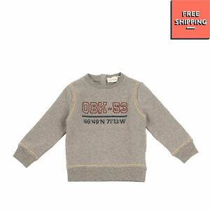 HITCH-HIKER By MONNALISA Sweatshirt Size 9M - 76 CM Stitched Made in Portugal