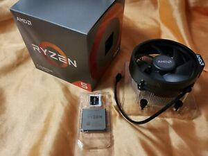 AMD Ryzen 5 3600XT mit 4,5GHz Boostclock boxed mit AMD Kühler in OVP