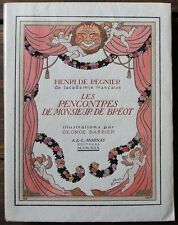George BARBIER Régnier Rencontres de Mr Bréot 1930 Editions Mornay num. Rives