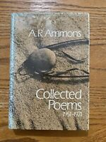1st Edition/1st Printing- A.R. Ammons Collected Poems 1951-1971