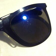 Flat Black Wayfarer Shape Sunglasses Cedar Wood State Primark