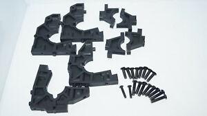 Front Rear Bulkhead Set: DBXL-E 2.0 LOS251102