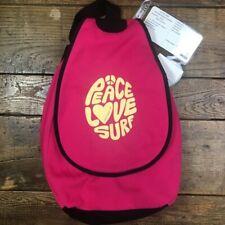 NWT MV Sport Daytripper Bag Pro-Weave Peace Love Surf Sweatshirt Backpack Pink