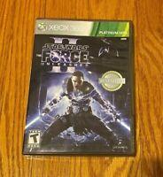 Star Wars The Force Unleashed II 2 (Microsoft Xbox 360, 2011) PLATINUM HITS TEEN