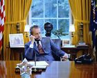 PRESIDENT RICHARD M. NIXON AT HIS DESK IN THE OVAL OFFICE - 8X10 PHOTO (MW360)