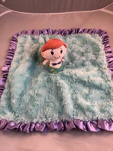 Hallmark Itty Bittys Disney Little Mermaid Security Blanket Ariel Baby Lovey