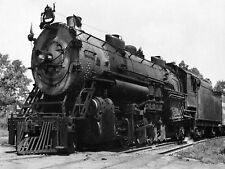 Vintage Foto Locomotora de tren de transporte Santa Fe gran impresión de arte poster LF2361